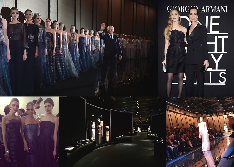 Giorgio Armani One Night Only Paris