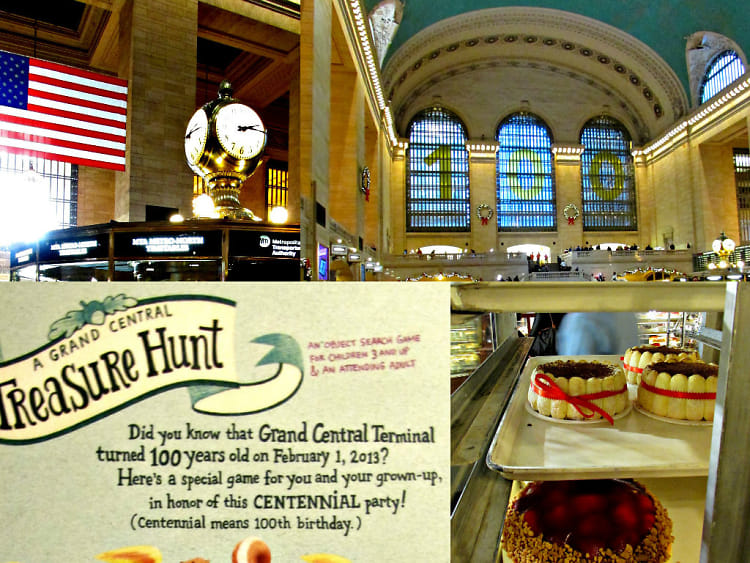 Grand Central Station Scavenger Hunt