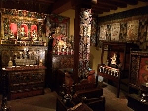 Meditation Center at the Rubin Museum of Art
