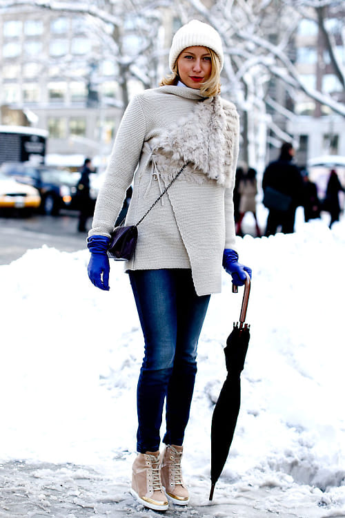 Snow Street Style
