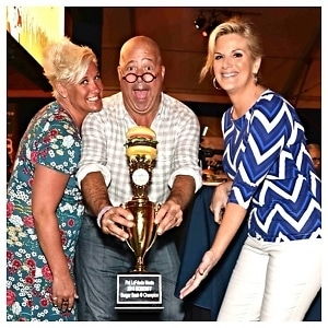 Chef Anne Burrell, Andrew Zimmern, Trisha Yearwood