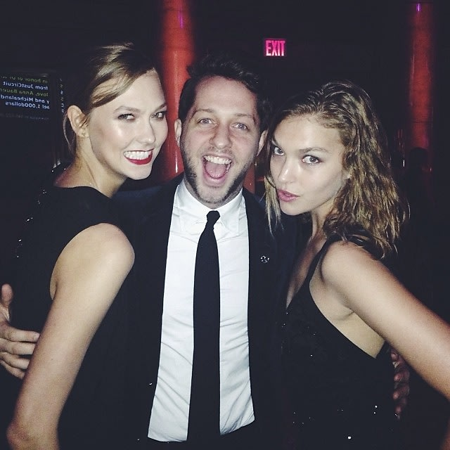 Karlie Kloss, Derek Blasberg, Arizona Muse