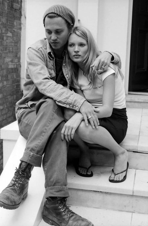 Johnny Depp, Kate Moss