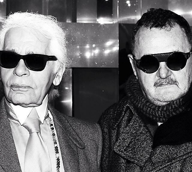 Karl Lagerfeld, Michel Gaubert