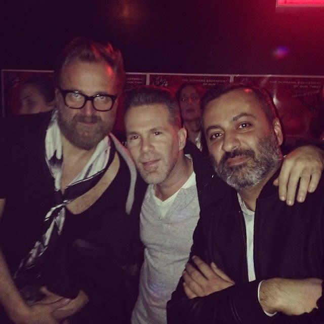 Johan Lindeberg, Scott Lipps, Mazdack Rassi
