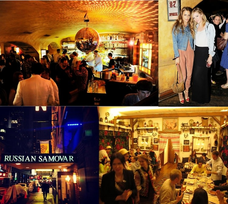 NYC Russian Bars