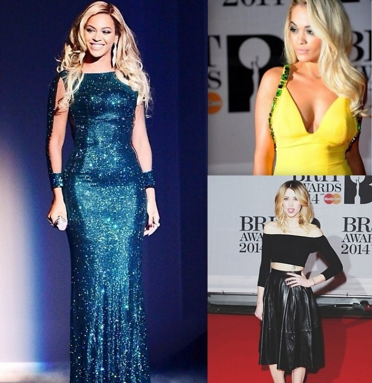 Brit Awards 2014 Best Dressed