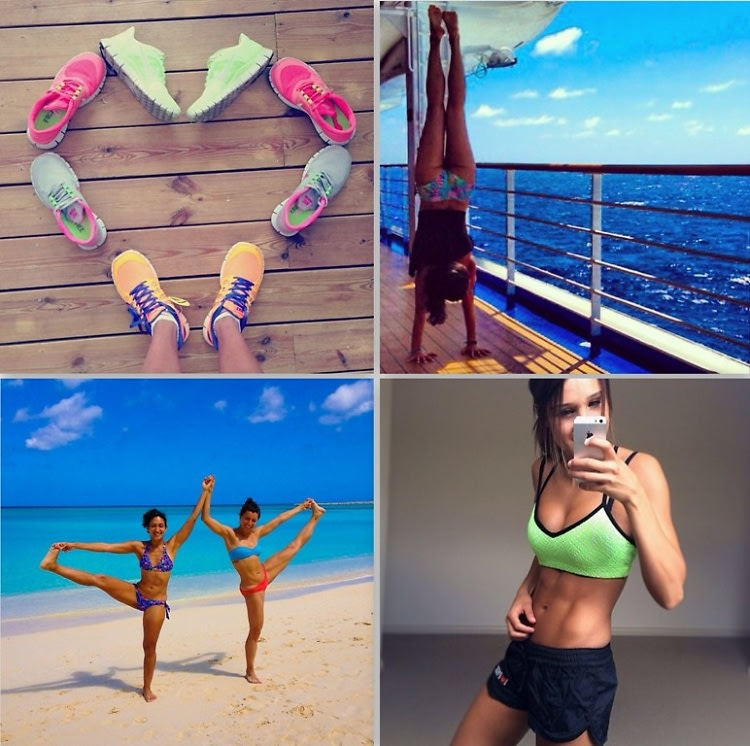 Health and fitness Instagrams