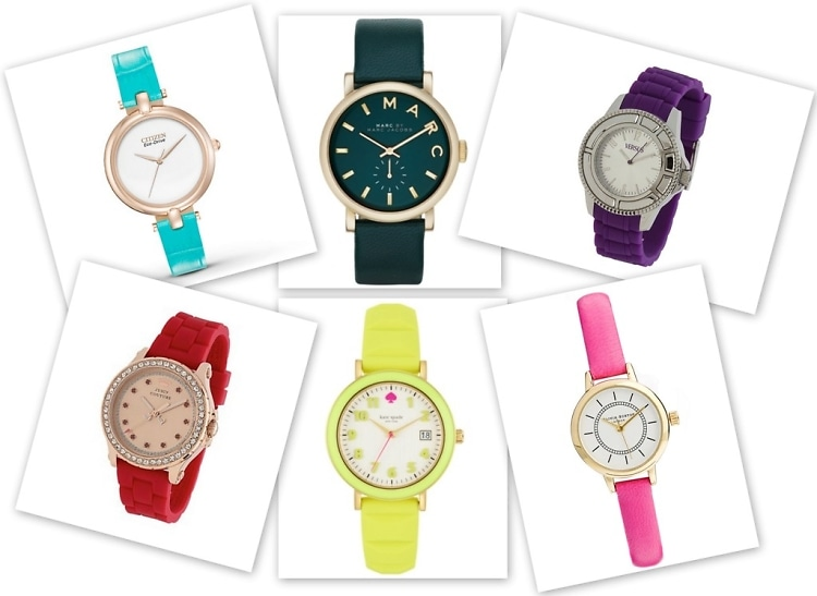 Colored Watch Trend
