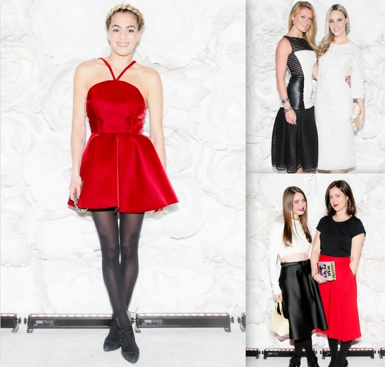 Best Dressed Guests 2014 Guggenheim Young Collectors Party