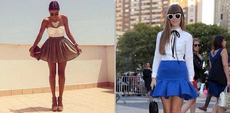 Flared Skirts
