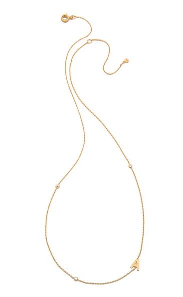 Tai Alphabet Necklace