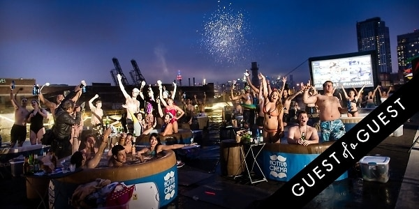 Crowdtilt Presents Hot Tub Cinema