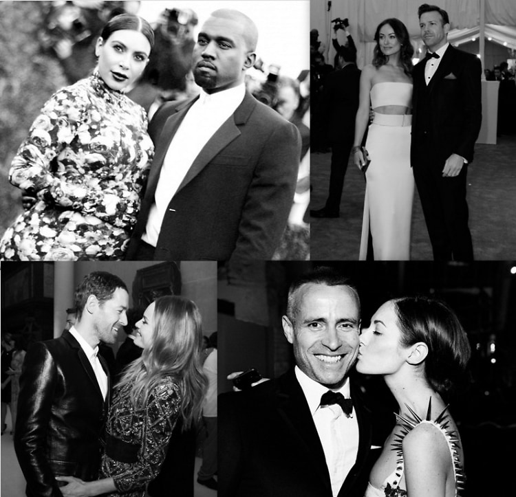 2013 Met Ball Dates