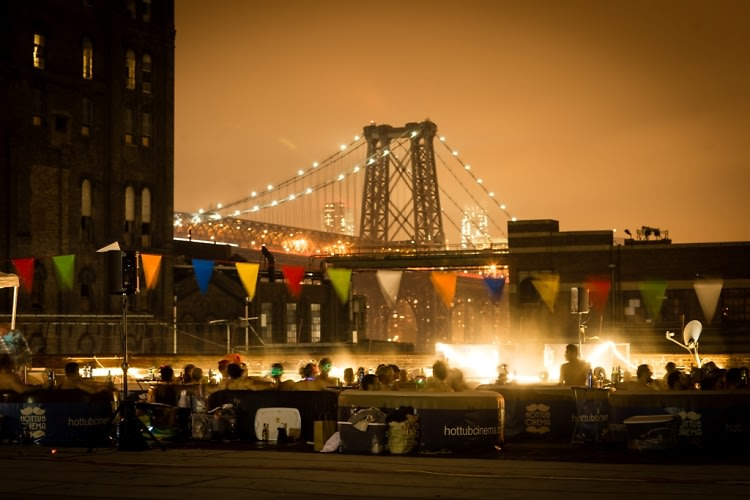 Crowdtilt Presents Hot Tub Cinema NYC