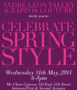 Andre Leon Talley & Zappos Couture Celebrate Spring Style