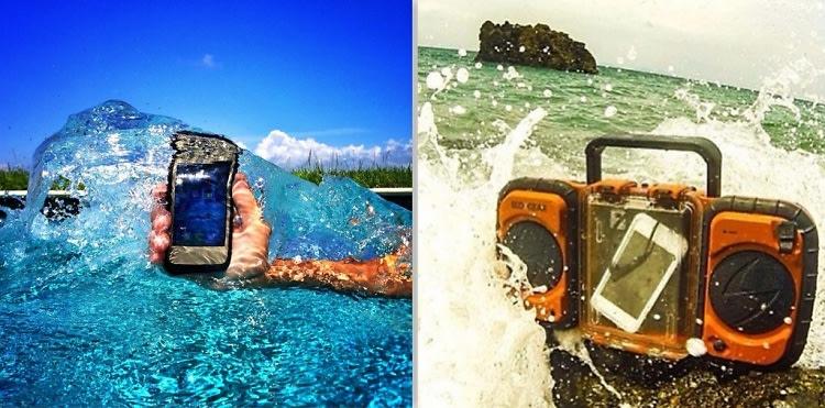 Waterproof electronics