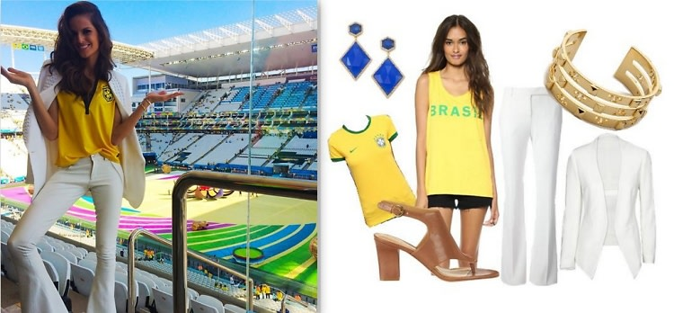 World Cup Inspired Outfits