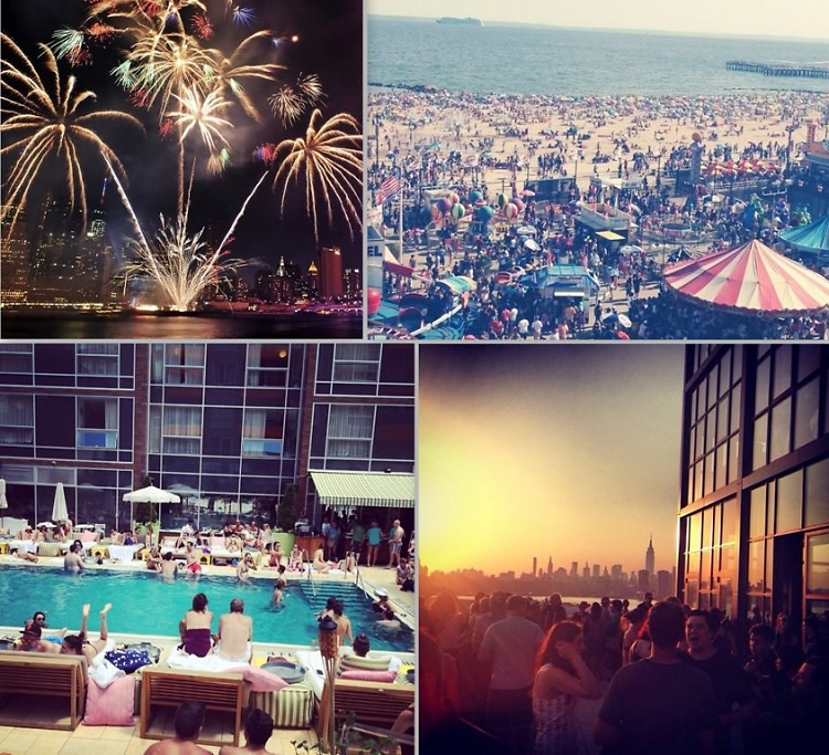 NYC 4th of July 2014 Instagram Round Up