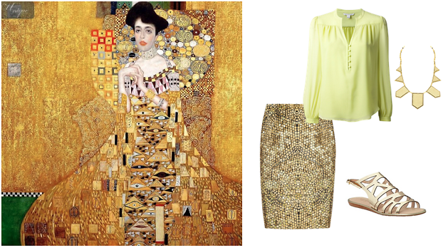 Klimt Inspired Outfit