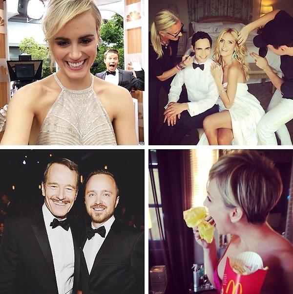 Instagram Round Up: Emmys 2014