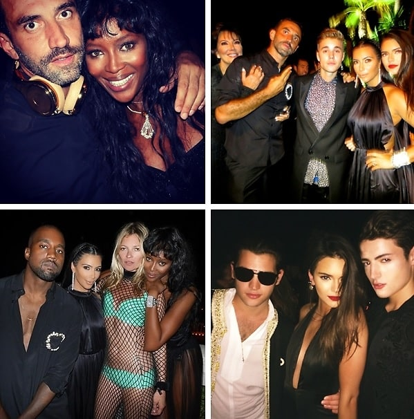Riccardo Tisci's 40th Birthday Party