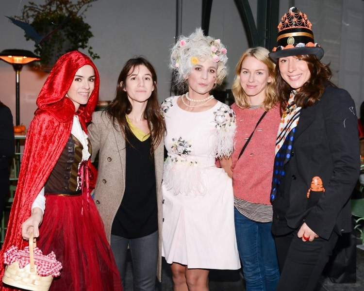 Florence Mars, Charlotte Gainsbourg, Jeannan Williams, Naomi Watts, Elisabeth Holder Raberin