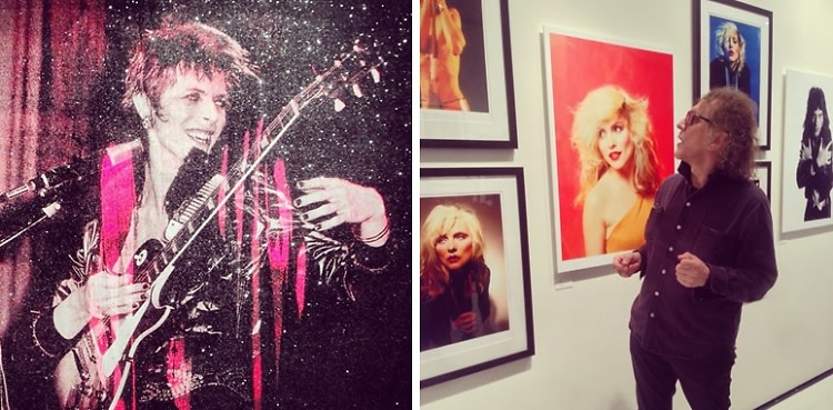 Interview: Mick Rock Reminisces About Partying With David Bowie & Lou Reed At His 'Exposed' Exhibition Private Tour