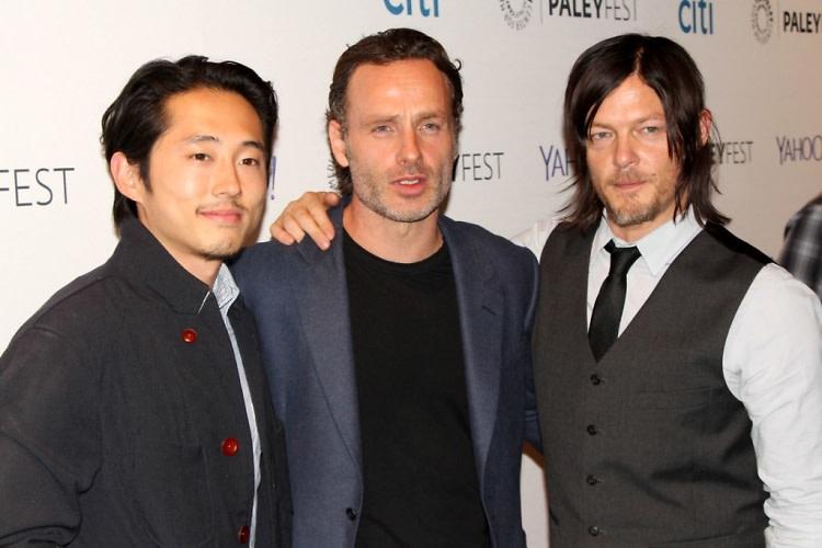 Steven Yeun, Andrew Lincoln, Norman Reedus