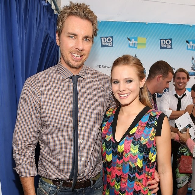Celebrity weddings 10 of the most successful secret for Dax shepard and kristen bell wedding