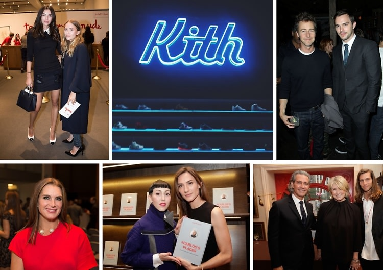 Last Night's Parties: Brooke Shields & Mary-Kate Olsen Attend The New York Academy's Take Home A Nude Auction & More!