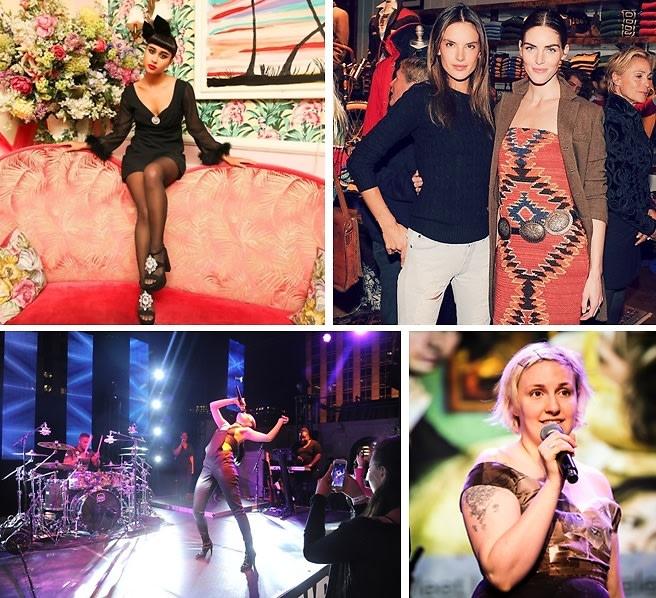 Last Night's Parties: Lena Dunham & Spike Jonze Host The Lowline Anti-Gala & More!
