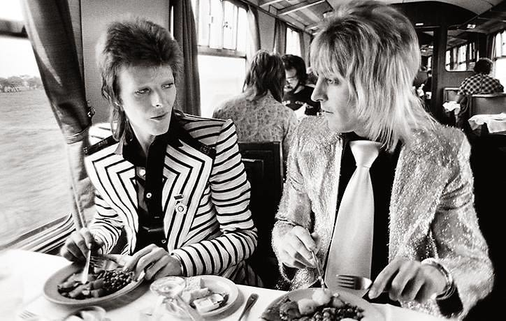 """Music Photographer Mick Rock Launches New Show """"Exposed"""" at Tribeca's Sumo Gallery"""