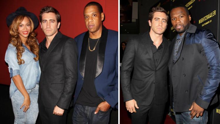 Beyonce, Jake Gyllenhaal, Jay-Z, 50 Cent