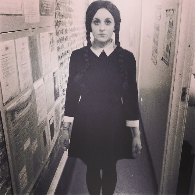 Wednesday Addams  sc 1 st  Guest of a Guest & 90s Costume Ideas: 10 Ways To Dress Up Like Your Favorite Decade ...