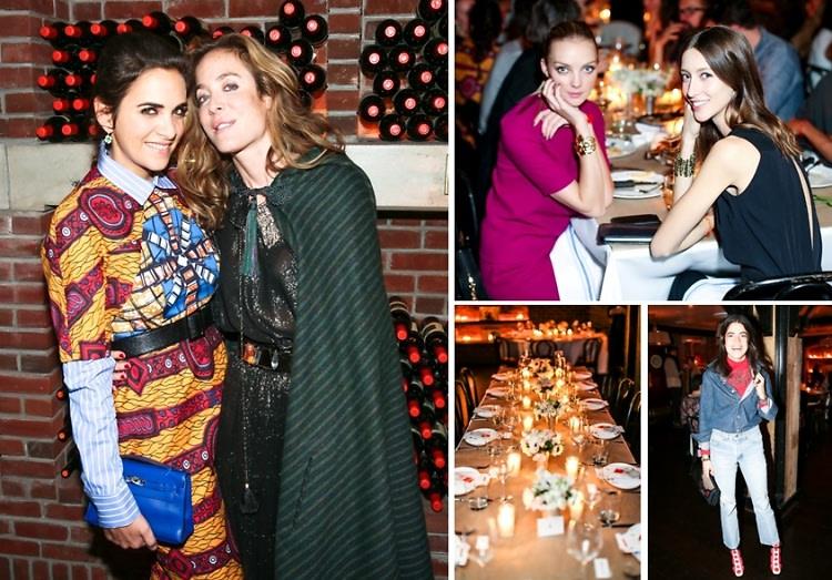 Leandra Medine & Hannah Bronfman Help Celebrate Aurelie Bidermann's NYC Boutique Opening