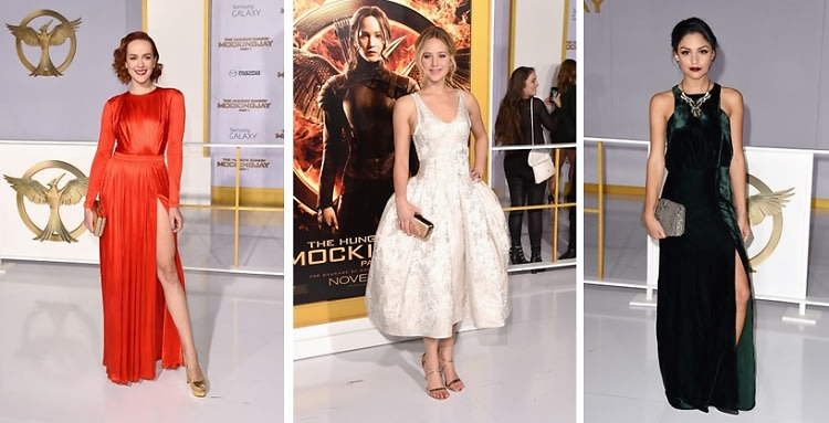 "Best Dressed Guests: ""The Hunger Games: Mockingjay"" Premiere"