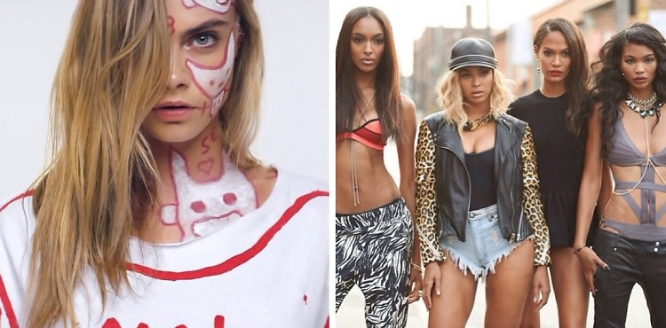 "Cara Delevingne Turns Video Girl In Die Antwoord's ""Ugly Boy"" Plus More Model & Music Pairings"