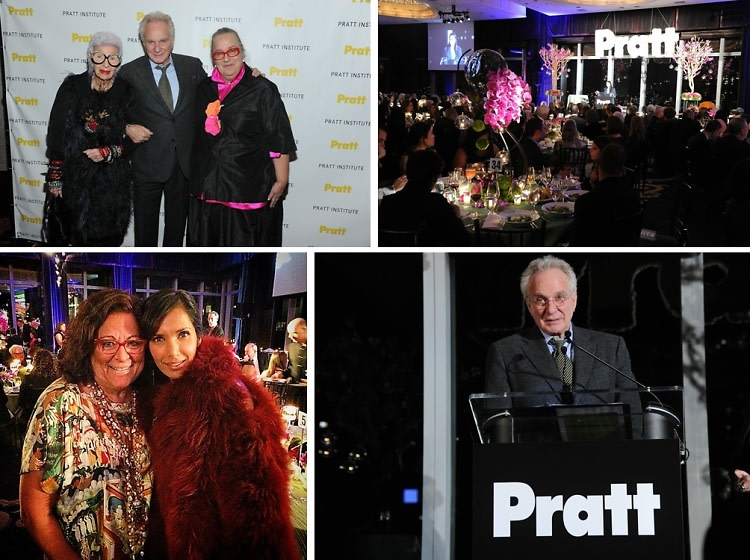 Iris Apfel, David Yurman & Kim Hastreiter Are Honored At The 2014 Pratt Legends Gala