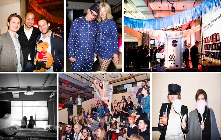 The 2014 Creative Time Fall Ball: An Epic Overnight Slumber Party Celebrating The Art World's Greatest