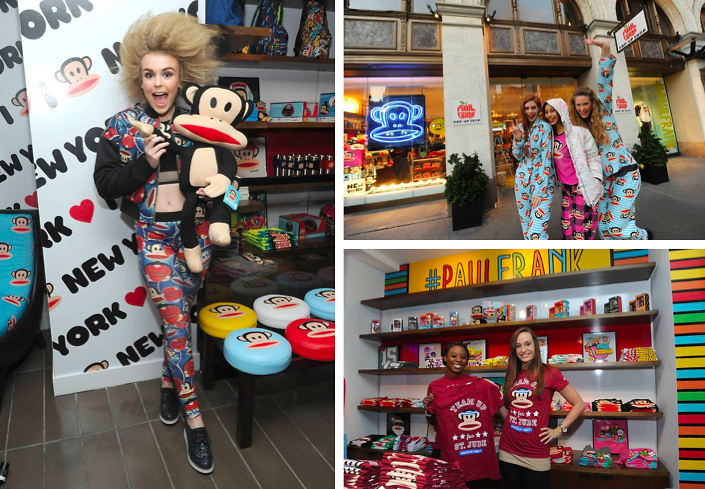 Paul Frank Celebrates Their First Pop-Up Shop At The Paramount Hotel