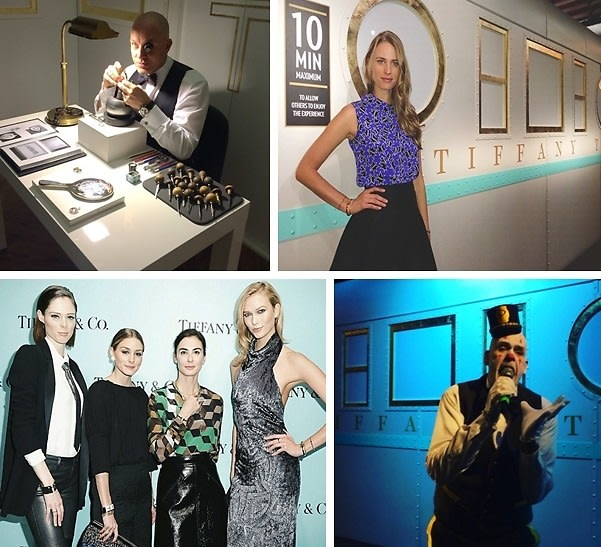 One Clown, Karlie Kloss & A Whole Bunch Of Diamonds: The Tiffany T Train Experience At The DIA Art Foundation