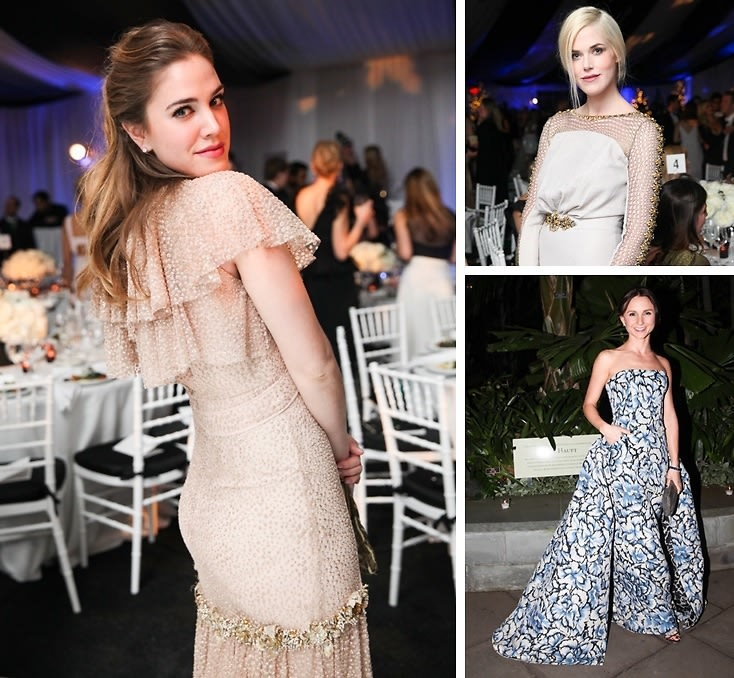 Best Dressed Guests: New York Botanical Garden Winter Wonderland Ball 2014