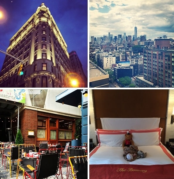 NYC Hot Spot Hotels
