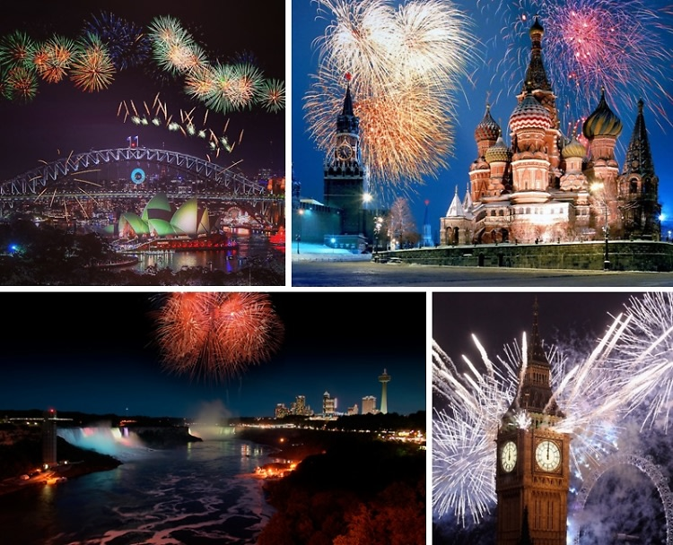 New Year's Eve 2014: The Most Spectacular Celebrations From Around The World