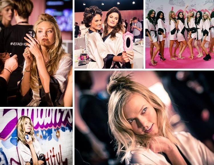 Backstage At The Victoria's Secret Fashion Show
