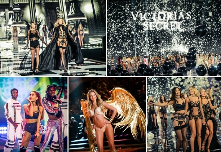 Taylor Swift, Karlie Kloss & Ariana Grande Take Over The 2014 Victoria's Secret Fashion Show