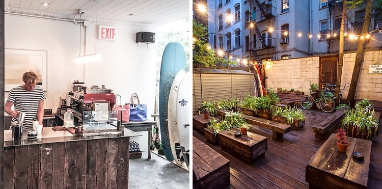 Surfin' The City: 6 Beach-Inspired Spots To Escape The Cold In NYC