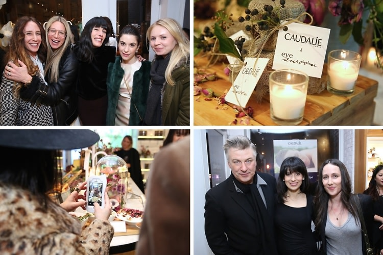 Alec & Hilaria Baldwin Attend The Caudalie Premier Cru Evening With EyeSwoon