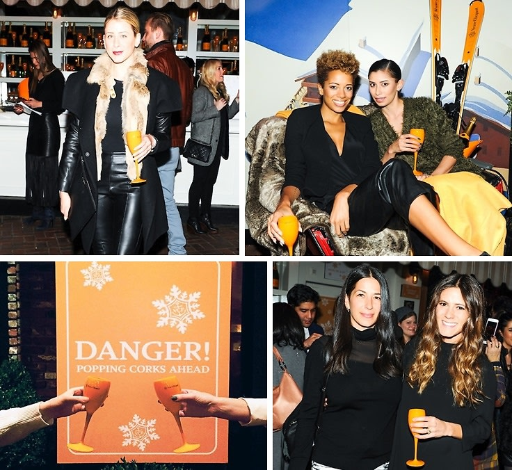 Lo Bosworth & Rebecca Minkoff Attend The Clicquot In The Snow Winter Party